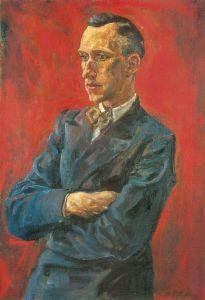 Rudolf Schlichter: Ernst Jünger 1929